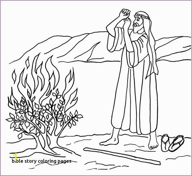 Moses Bible Coloring Pages Moses Coloring Pages Unique 1313 Best Sunday School Coloring Pages