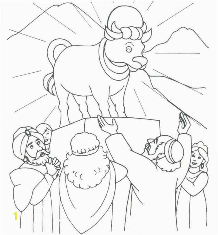 Moses and Jethro Coloring Page New Best 50 Bible Story Moses Wilderness Pinterest Stock