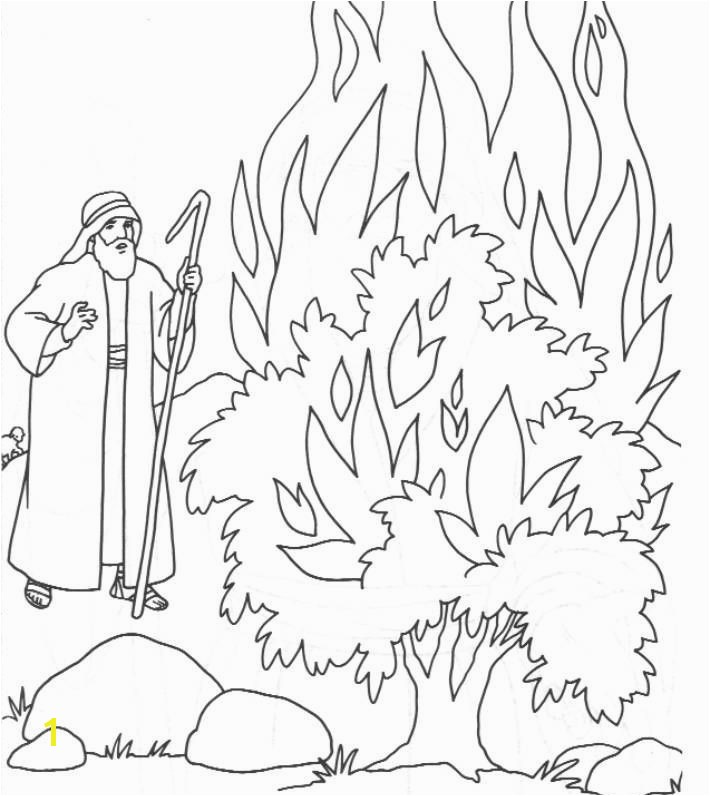 Moses In the Desert Coloring Pages Moses Coloring Pages Luxury the Call Moses Colouring Pages Moses