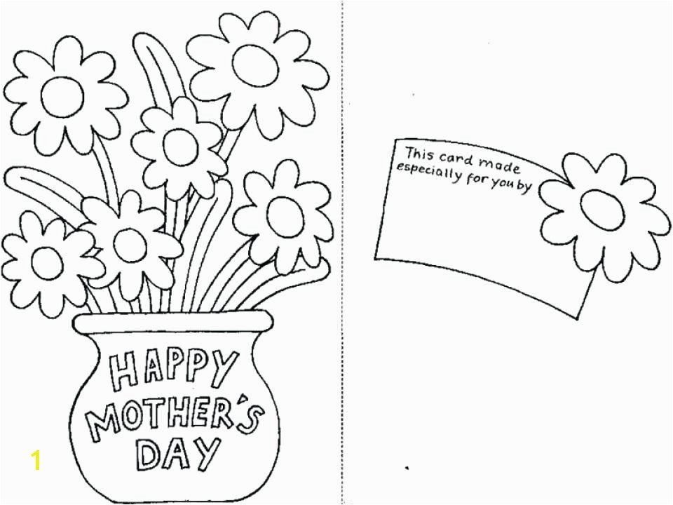 Printable Mothers Day Coloring Pages 13