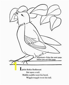 Printable Nursery Rhymes Coloring Pages to learn Mother Goose Nursery Rhymes and teach Pre K coloring students about the Nursery Rhymes