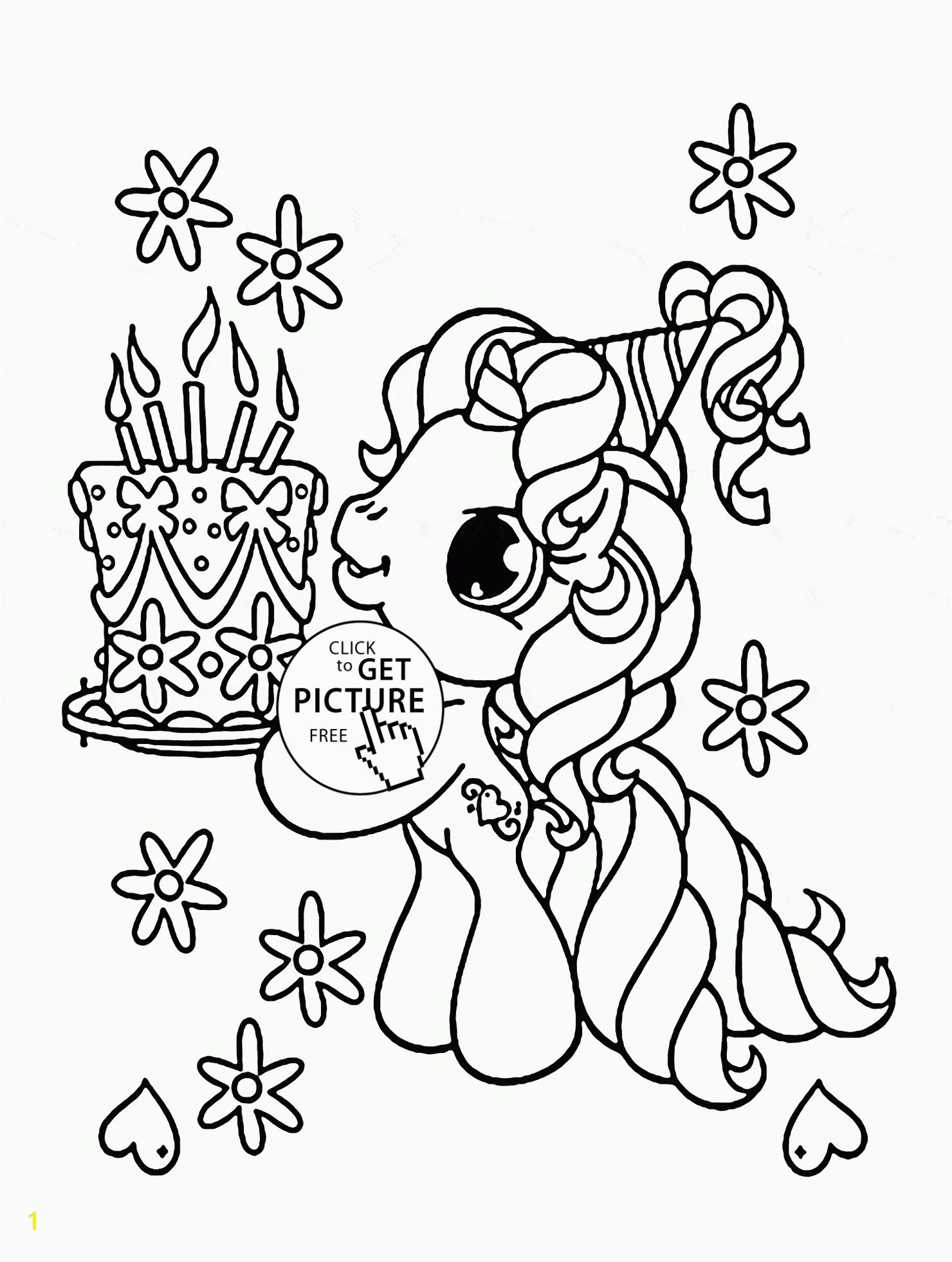 My Little Pony Happy Birthday Coloring Page Inspirationa My Little Pony Birthday Coloring Pages Inside 28