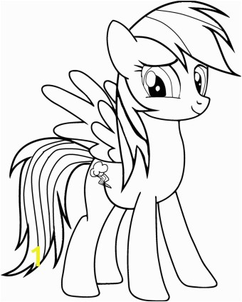 My Little Pony Rainbow Dash Coloring Pages My Little Pony Rainbow Dash Coloring Pages Printable Coloring