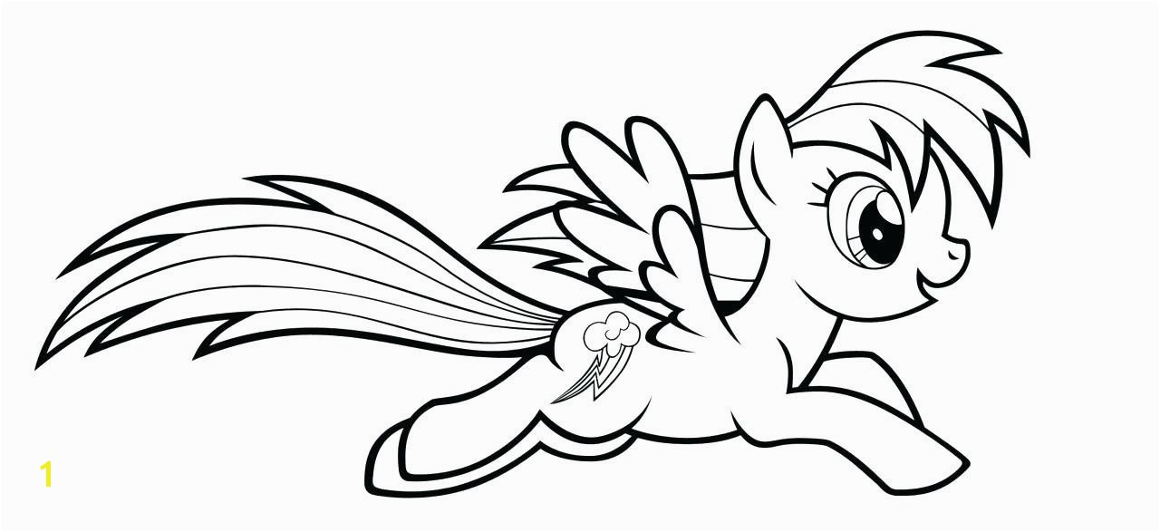 Rainbow Dash Coloring Pages Rainbow Dash Coloring Page Fresh My Little Pony Coloring Pages