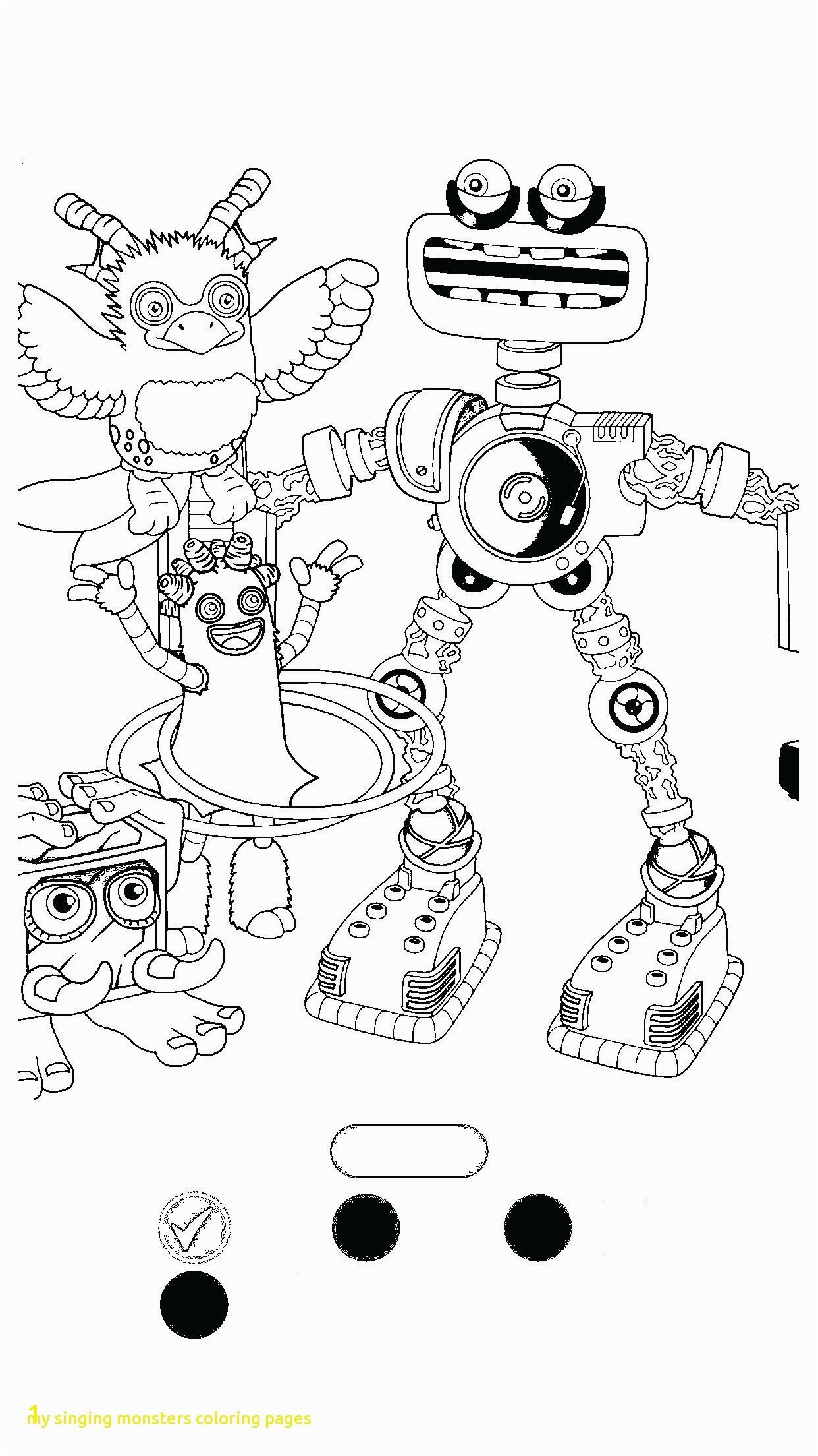 My Singing Monsters Coloring Pages Elegant Monsters Coloring Pages Free Coloring Pages Download