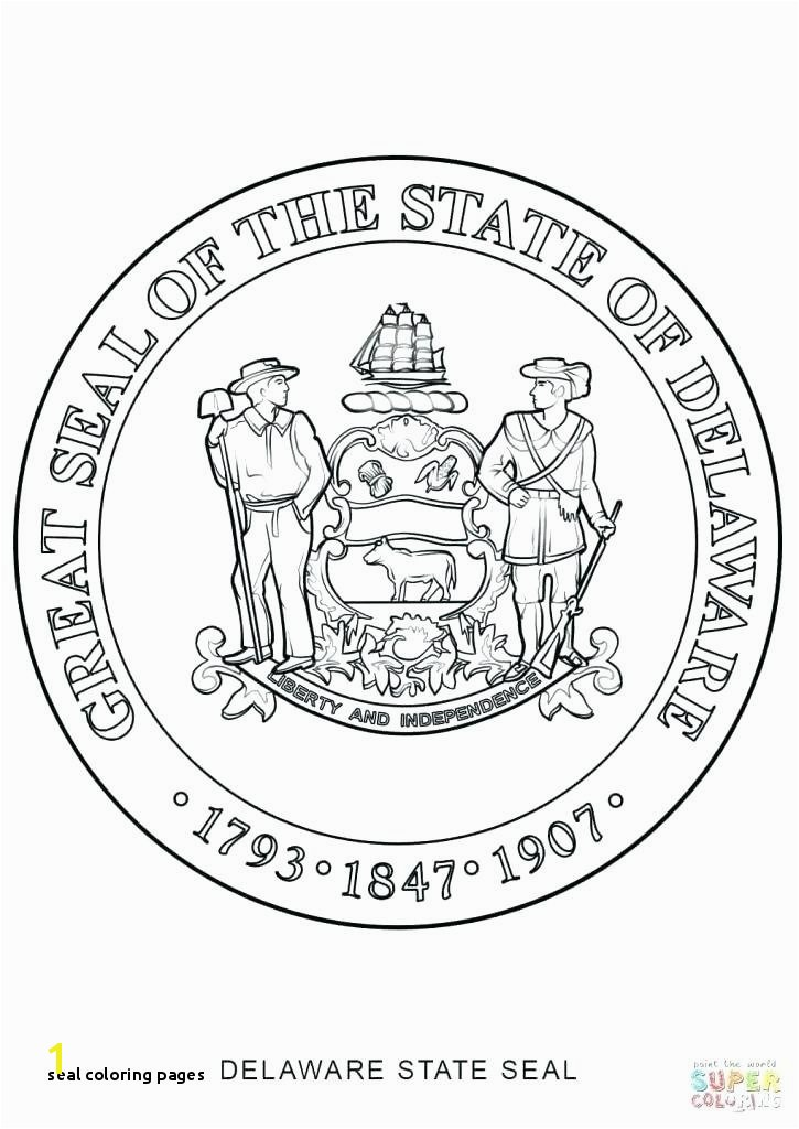 Seal Coloring Pages New Jersey State Seal Coloring Page Free Coloring Pages Free New
