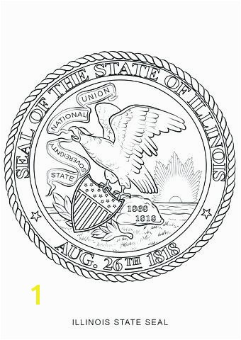Oregon State Flag Coloring Page Unique Missouri State Seal Coloring Page Seal Coloring Page State Seal
