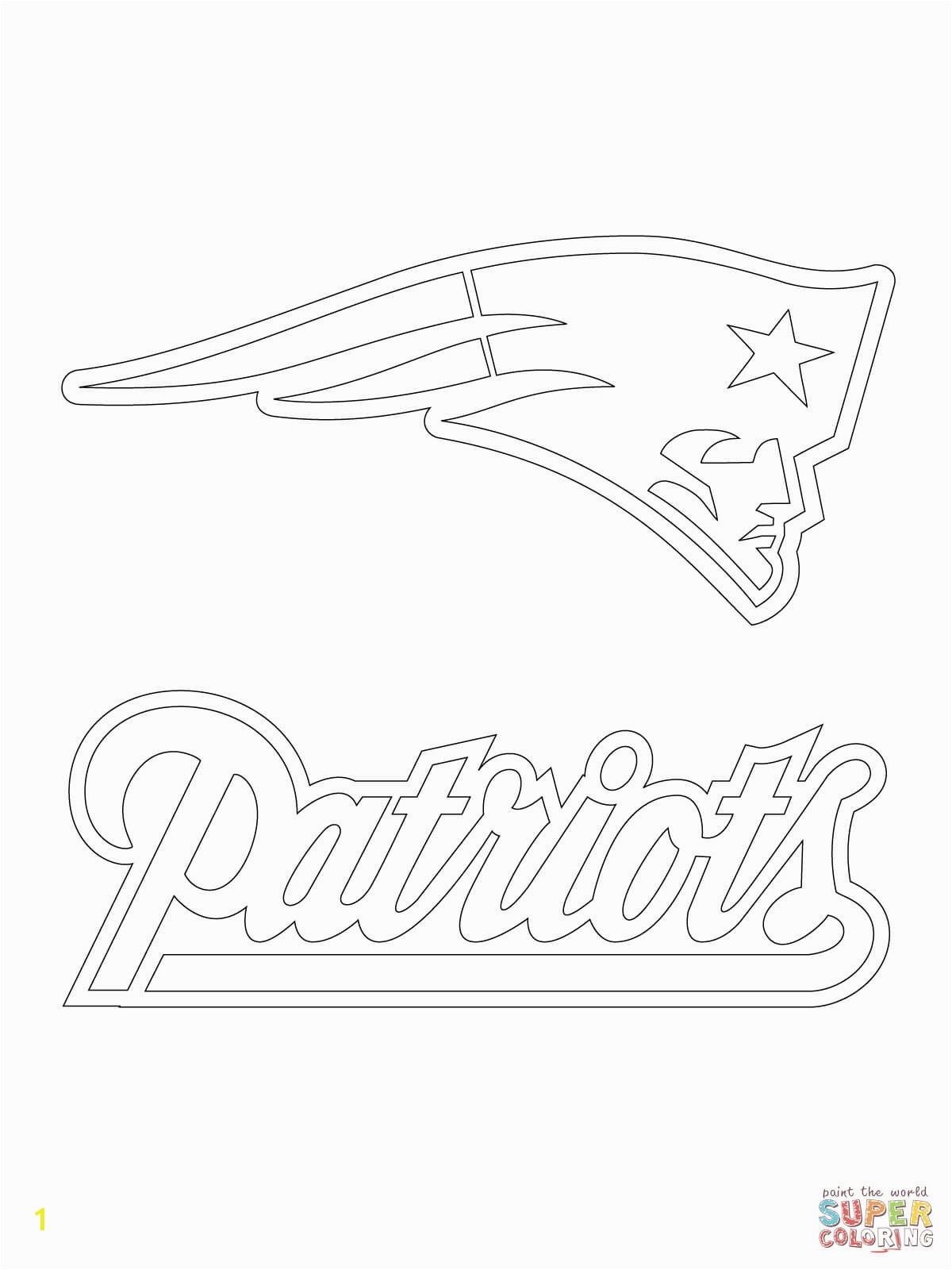 Football Coloring Page New New England Patriots Football Coloring Pages Printable to Tiny New