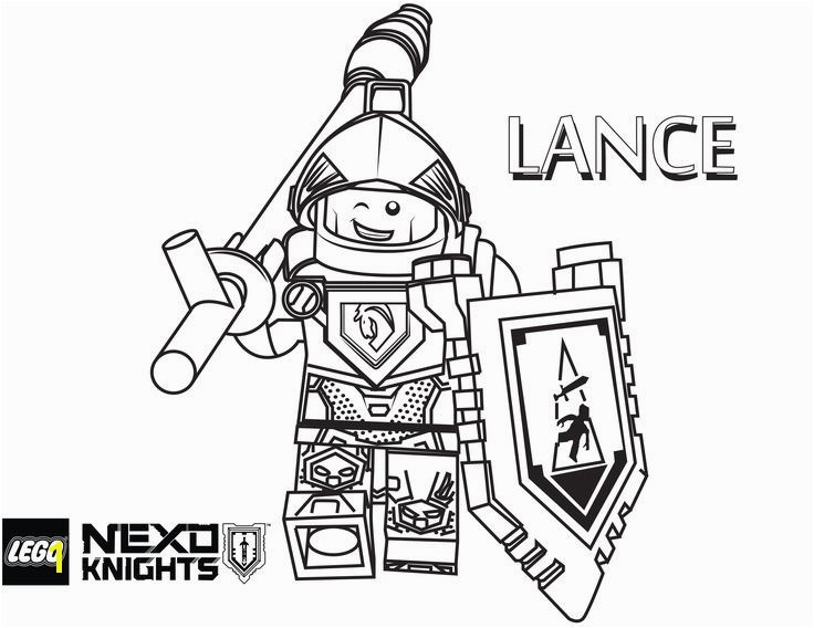 Nexo Knight Coloring Pages Lego Coloring Book Pdf 10 Best Nexo Knights Pinterest