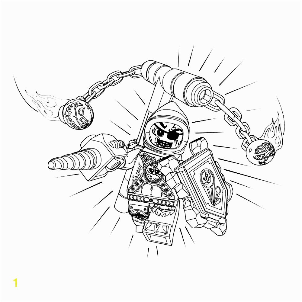 bekijk Lego Nexo Knights – Beast Master coloring page