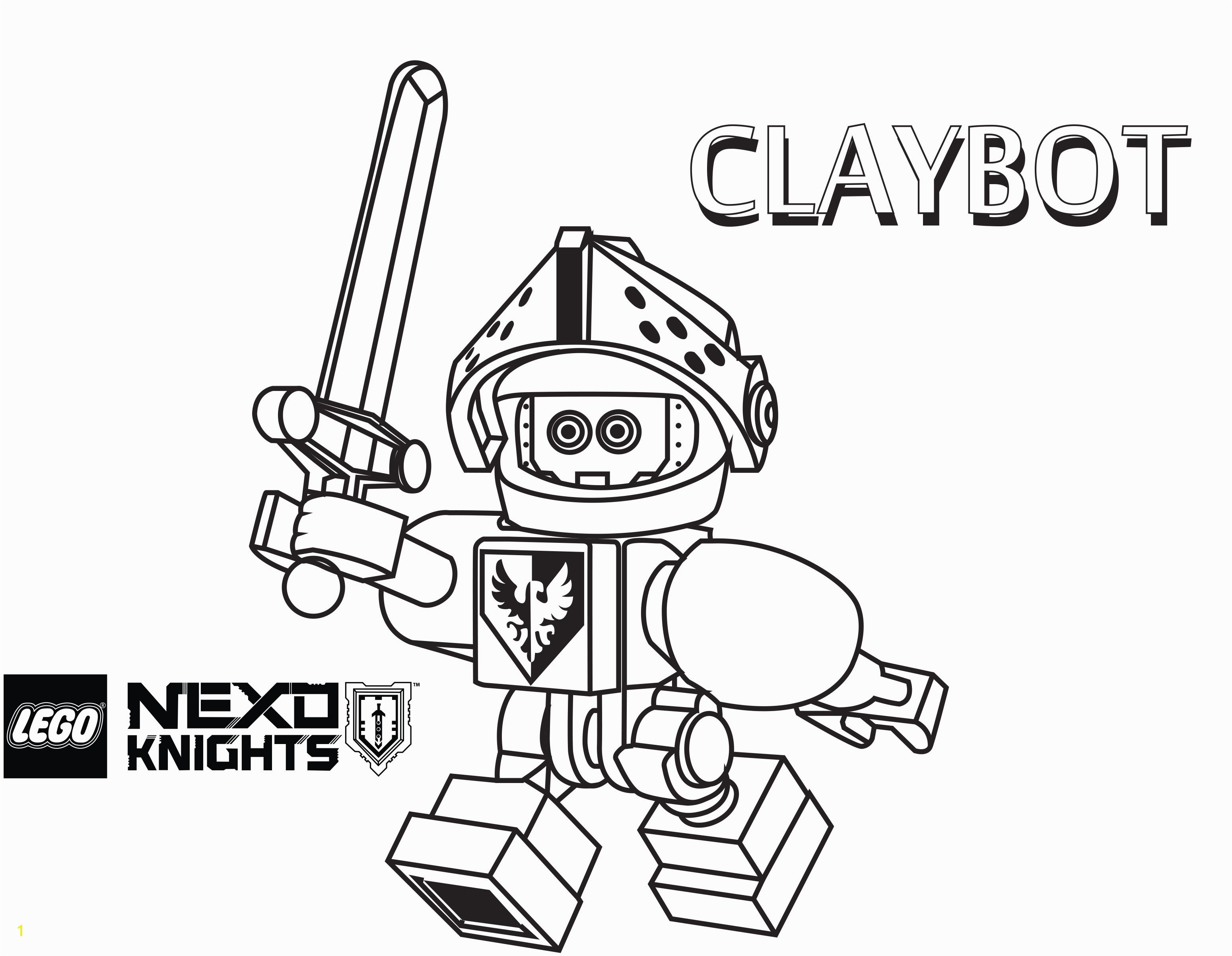 Nexo Knight Coloring Pages Fresh Lovely Lego Nexo Knights Coloring Pages Image