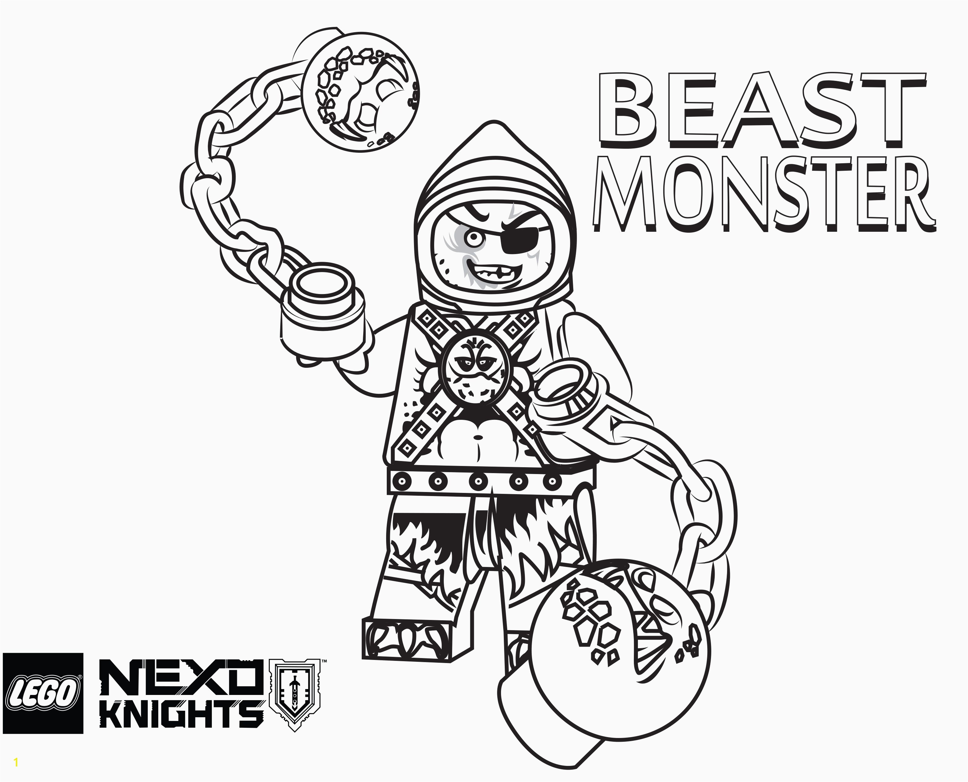 Printable Coloring Sheets for Boys Lovely Lego Nexo Knights Coloring