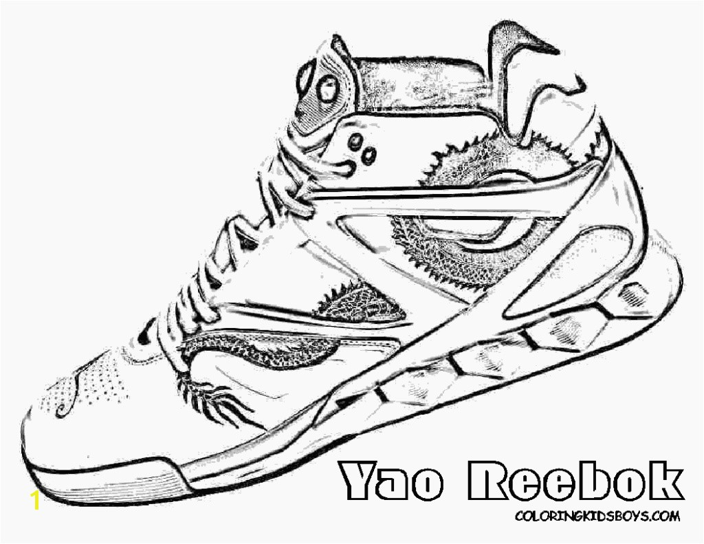 Gallery of Nike Air Max Coloring Pages