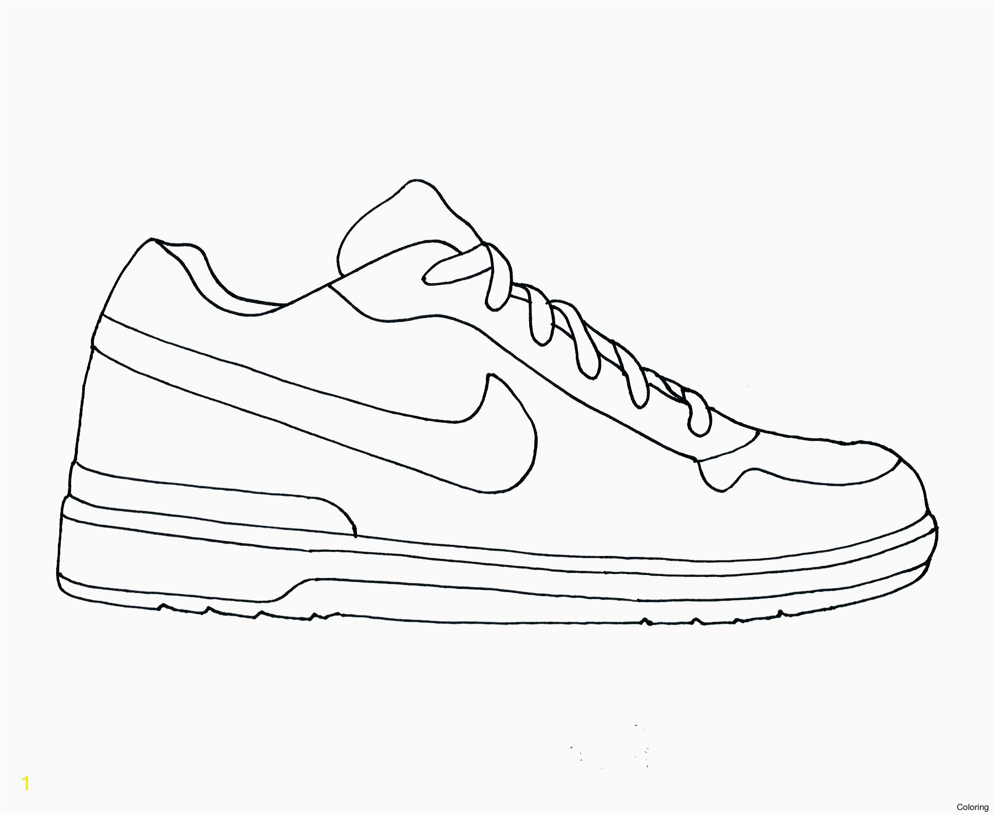 Pioneering Nike Coloring Pages Kd Shoes Copy New Air