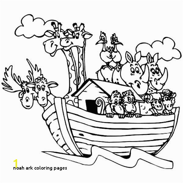 Noah Ark Coloring Pages Animal Printouts for Noah S Ark