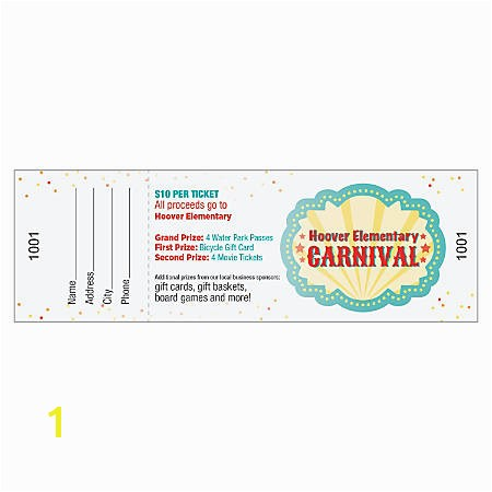 Print This Page Print Full Color Event Tickets Pack