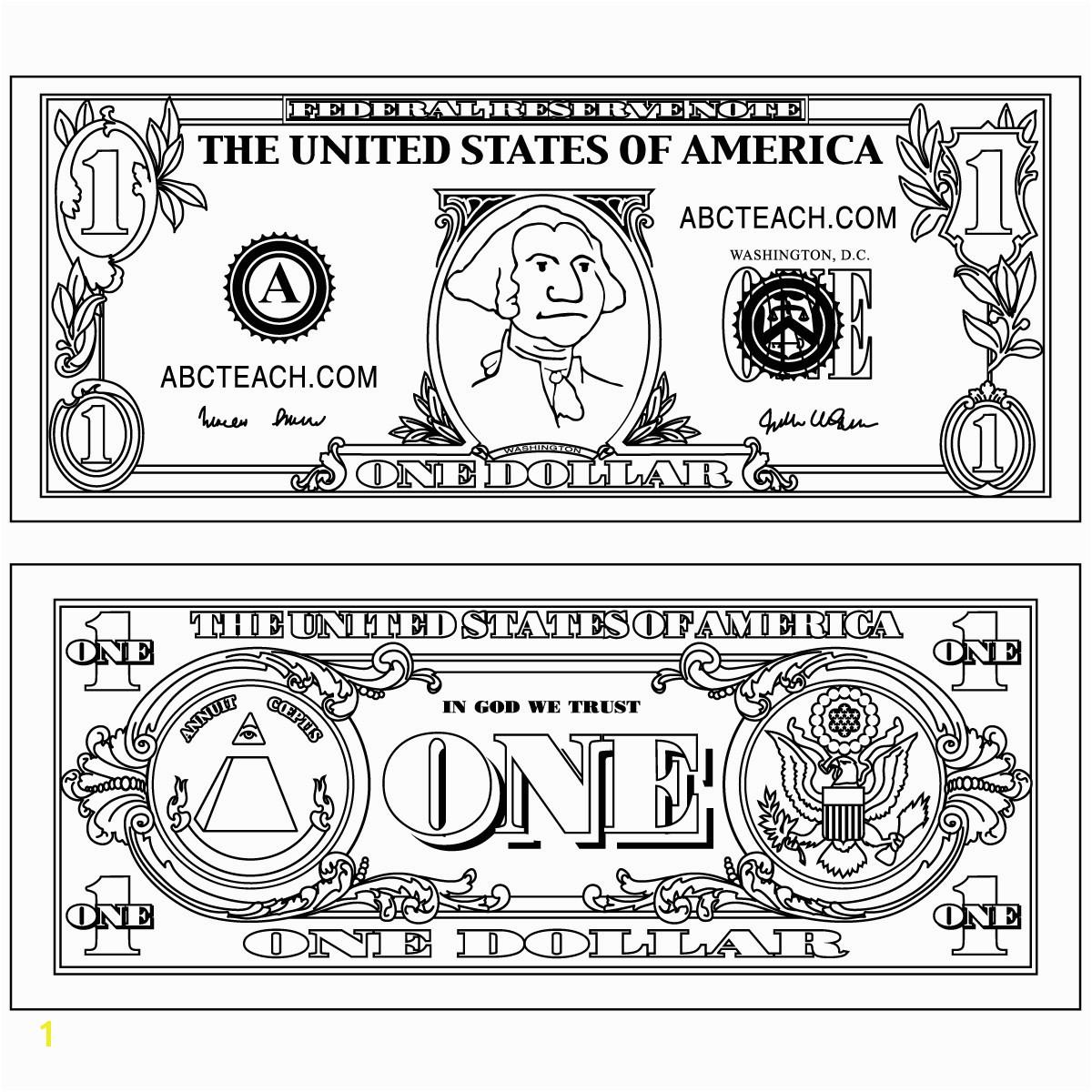 Clip Art Twenty Dollar Bill Grayscale Abcteach SaveEnlarge