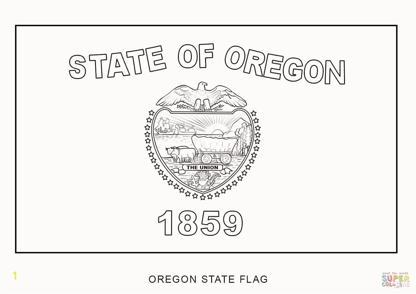 Oregon Flag Coloring Page Best 30 Awesome Symbols the Usa Coloring Pages Oregon Flag