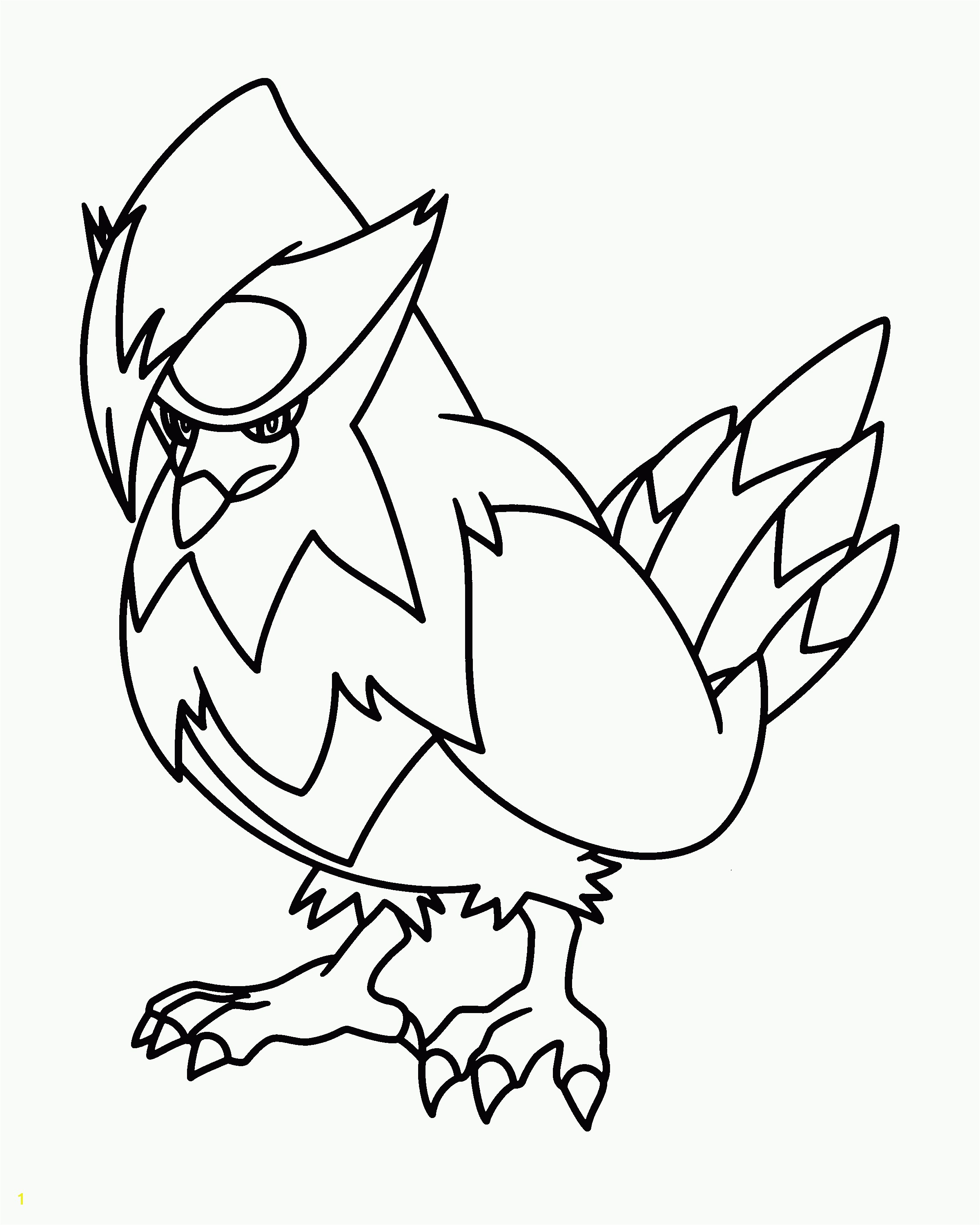 Sure Fire Pachirisu Coloring Pages Pokemon Electric Coloring4free