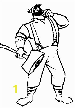 paul bunyan coloring pages printable Google Search