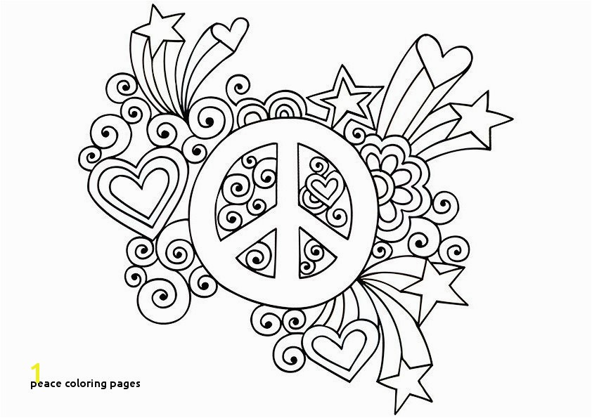 Peace Coloring Pages Printable Peace Sign Coloring Pages Democraciaejustica
