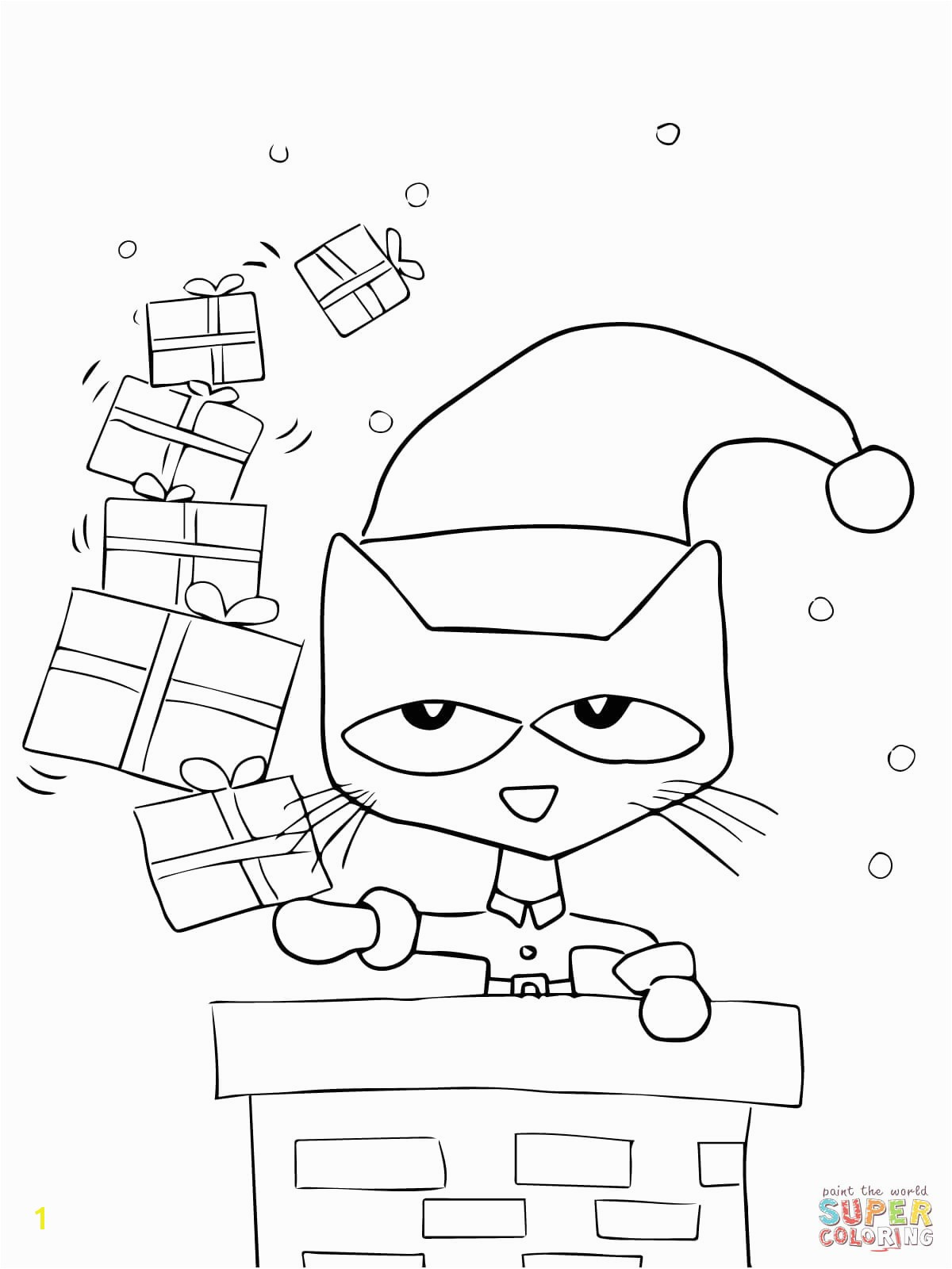 Pete The Cat Coloring Page Part 221 Make Your World More Colorful With Printable Coloring Pages