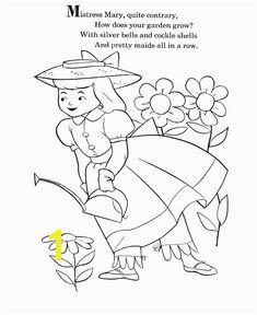 Nursery Rhymes Coloring page