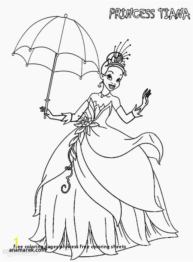 26 Free Coloring Pages Princess Free Coloring Sheets