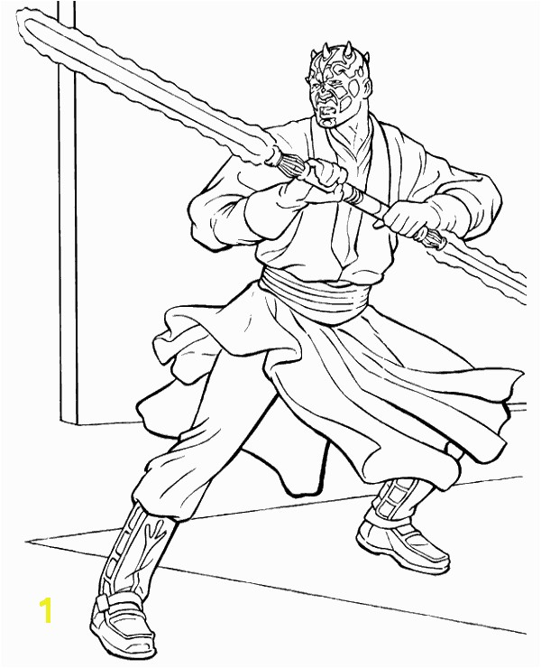 9 Star Wars Coloring Page