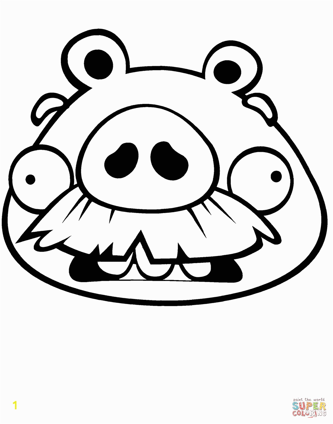 the Foreman Pig coloring pages to view printable