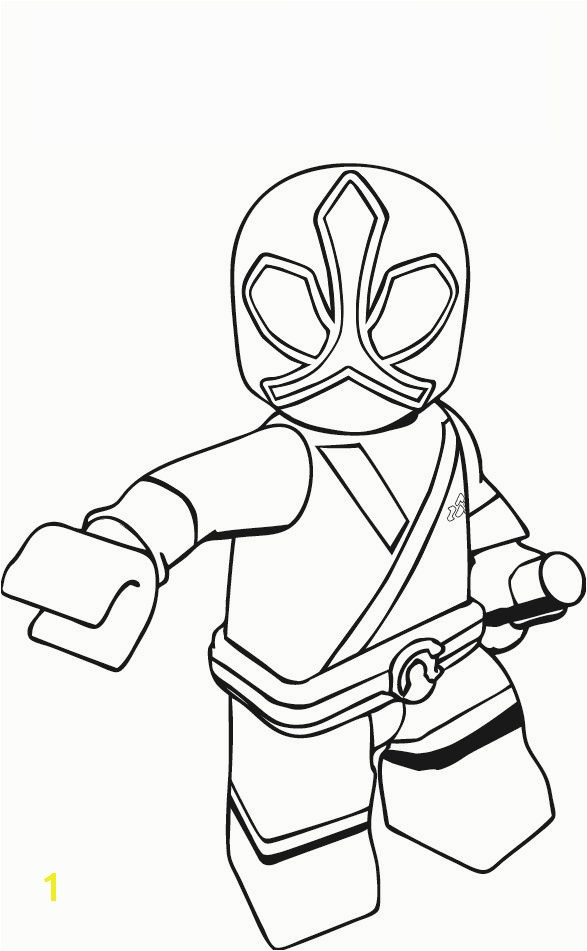 Power Ranger Printable Coloring Pages
