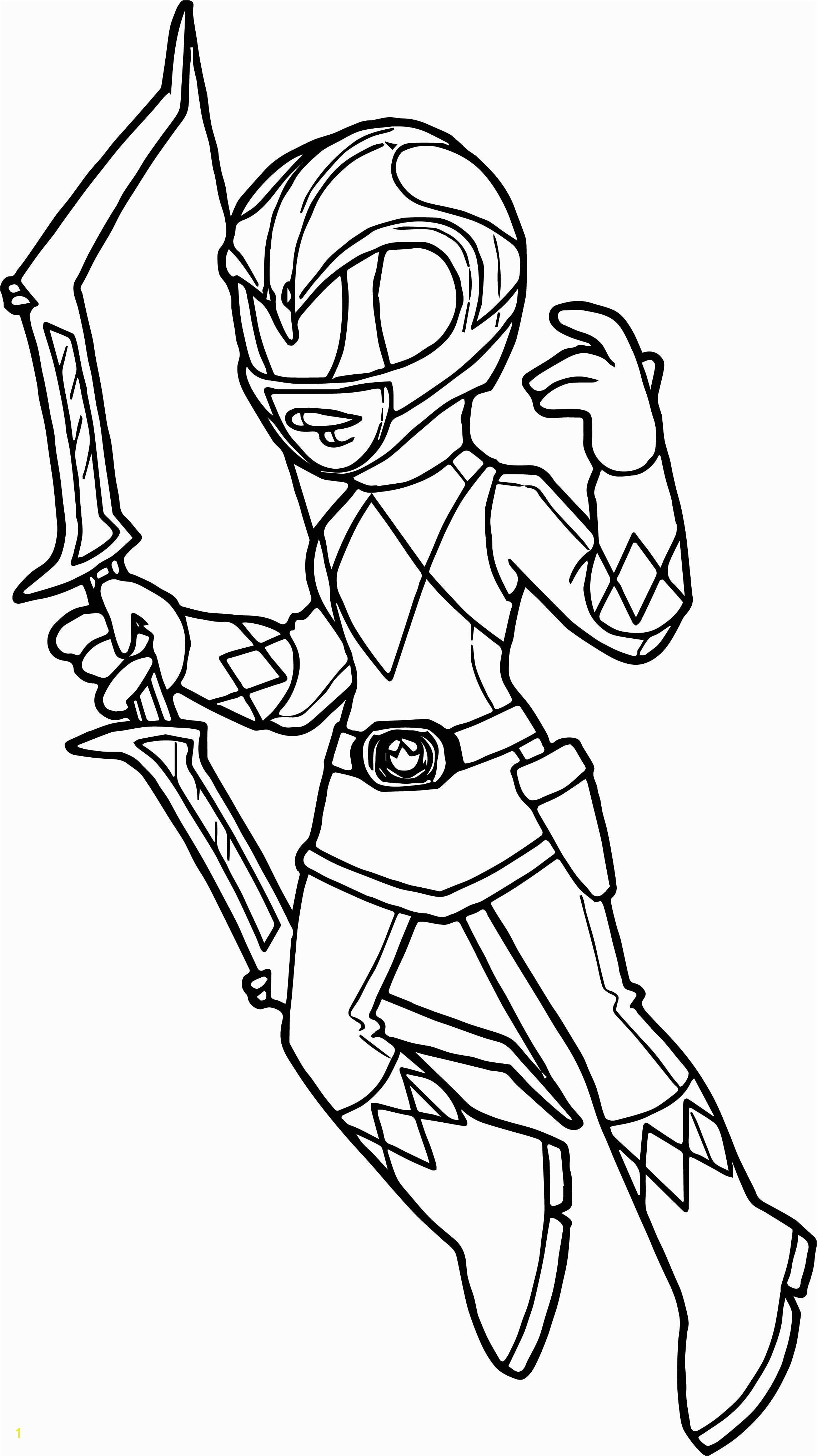 Pink Power Ranger Coloring Pages With Save Extraordinary