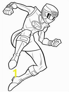 Pink Power Rangers Coloring Pages