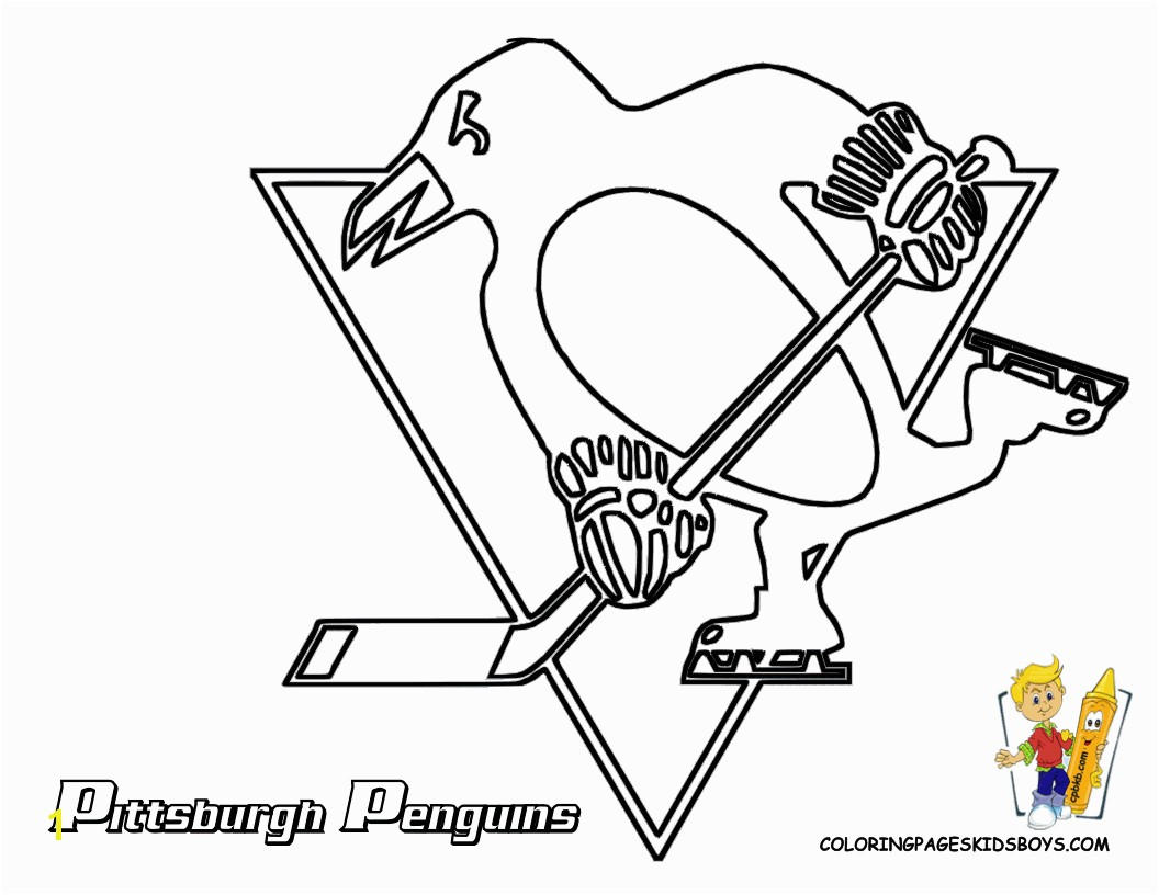 Highest Boston Bruins Hockey Coloring Pages Pittsburgh Penguin Printable Picture Http Www Printablesfree