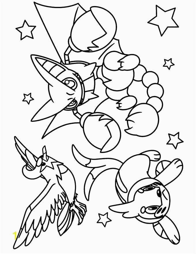 Beautiful Pokemon Coloring Pages For Kids More Image Ideas