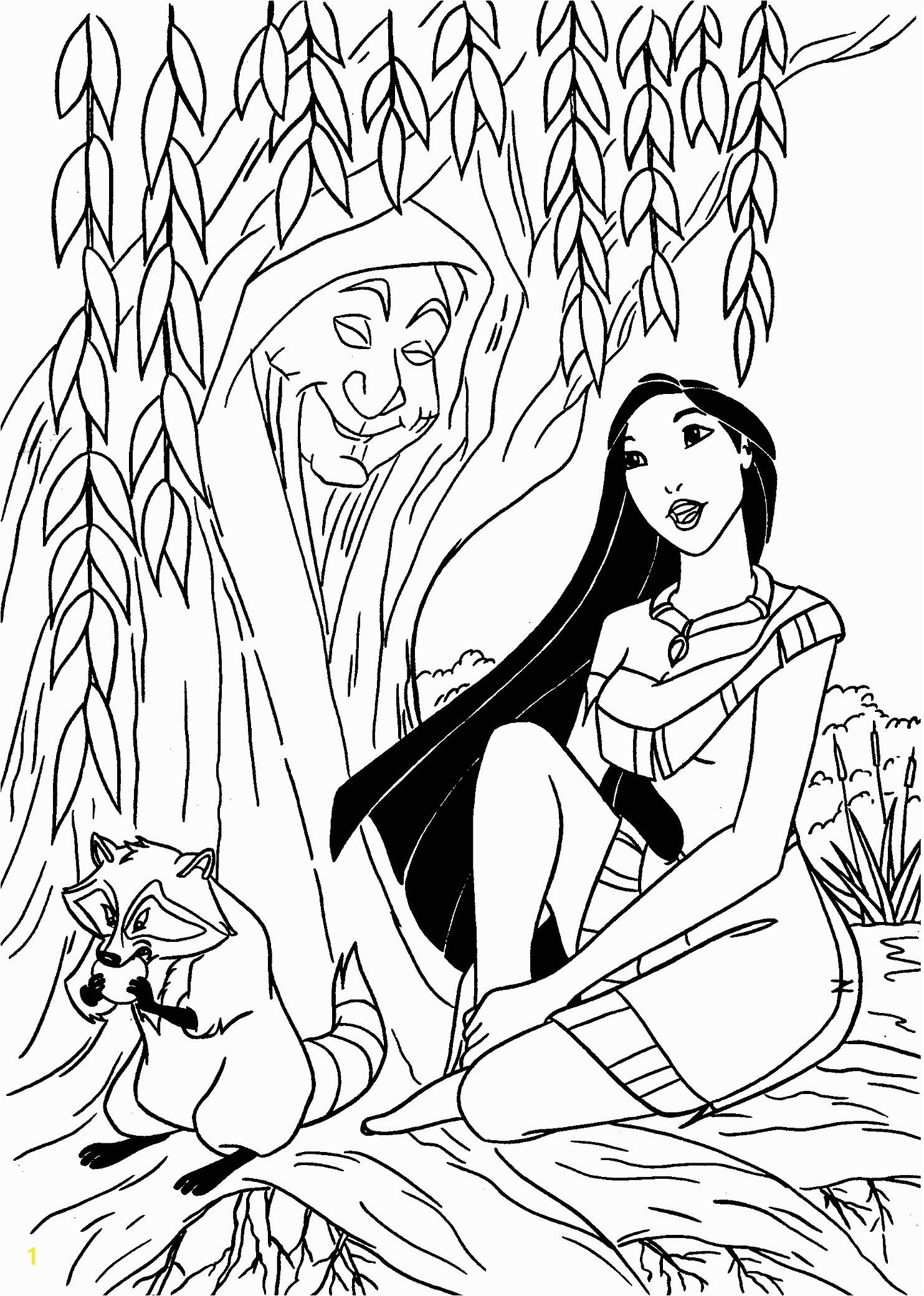 Cool Pocahontas Coloring Pages for Kids Printable Free Awesome Prince Charming Coloring Pages
