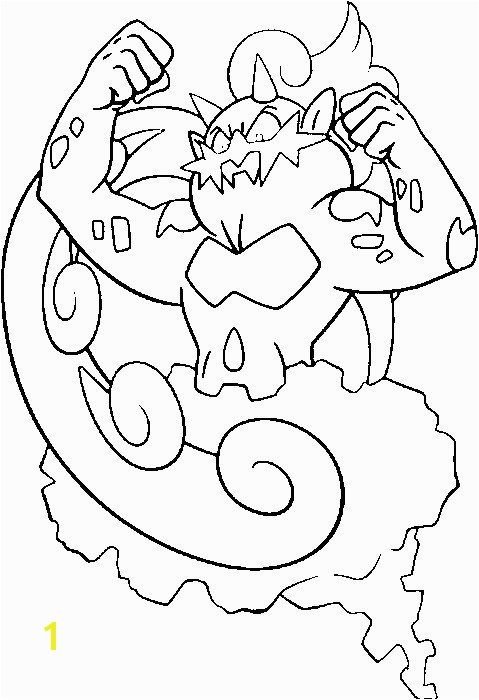 15 Awesome Pokemon Buneary Coloring Page graph
