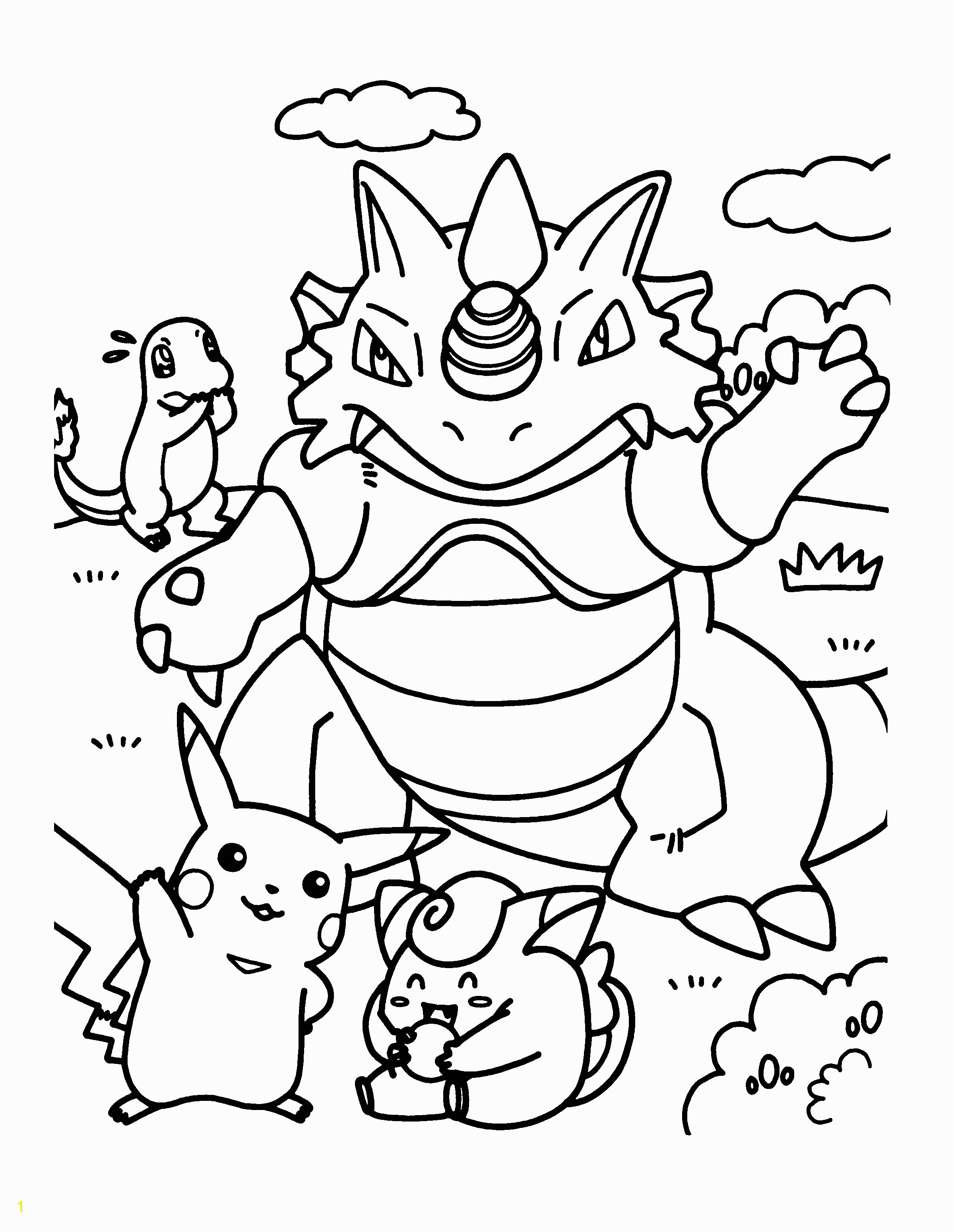 Pokemon Coloring Pages Free Online Fresh Pokemon Coloring Pages Free Line Collection