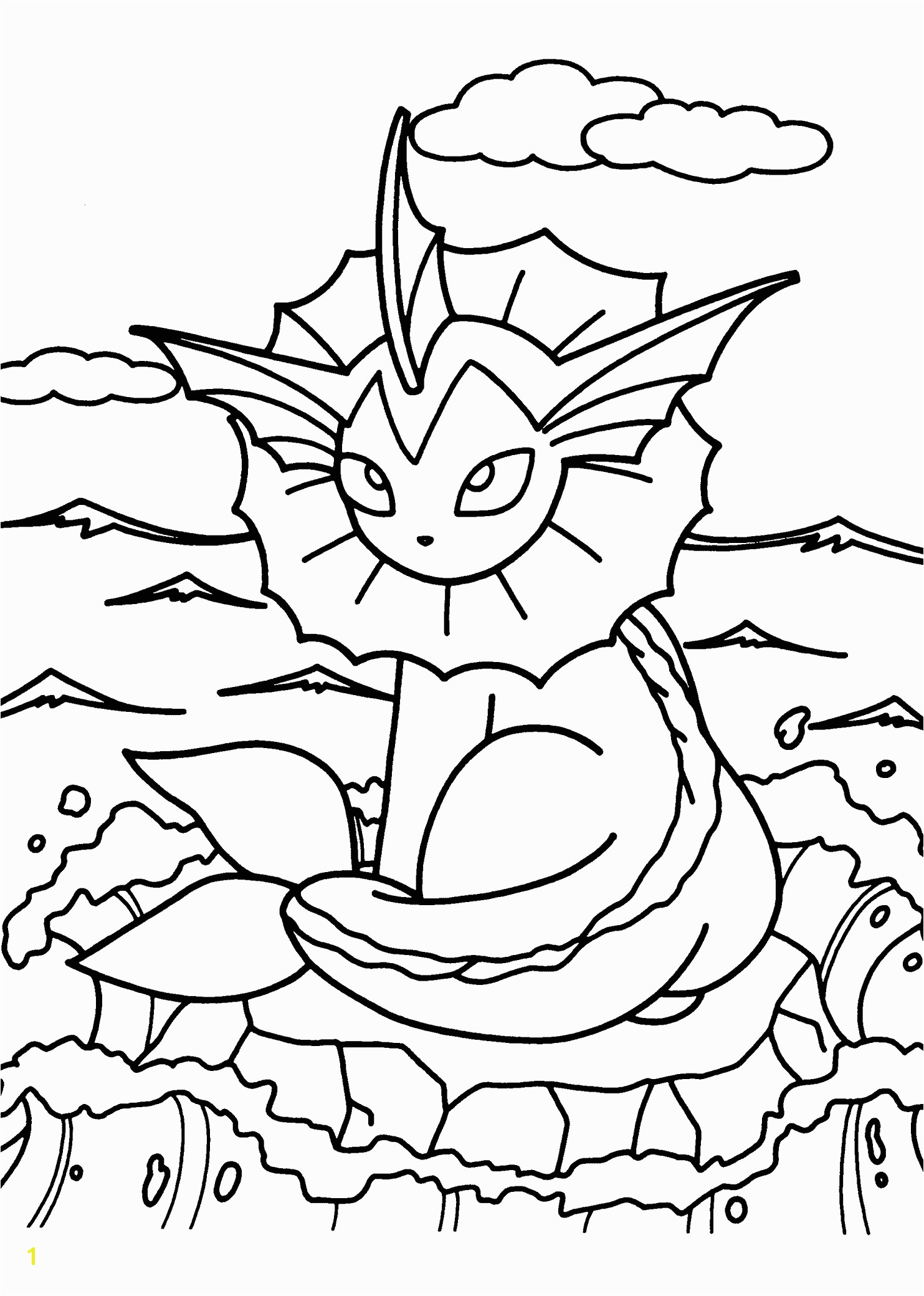 Pokemon coloring pages for kids printable free
