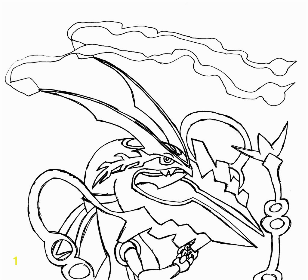 New Pokemon Mega Coloring Pages Gallery 11 h Pokemon Coloring Pages Mega Rayquaza Colouring