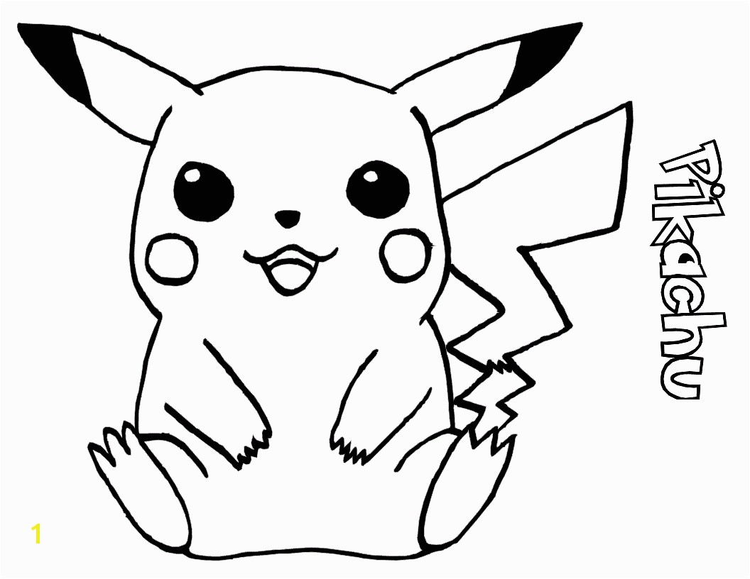 Pikachu Coloring Pages s