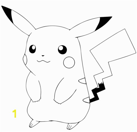 Pokemon Pikachu Coloring Pages Free Pokémon Go Pikachu Coloring Page