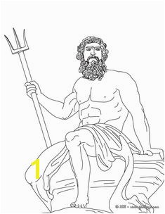 POSEIDON the Greek god of the sea coloring page Hellokids has selected lovely coloring sheets for you There is the POSEIDON the Greek god of the sea