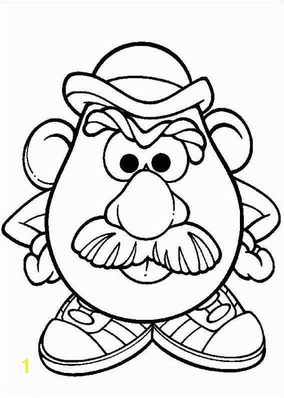 Potato Chip Coloring Page New the Incredible Beautiful Mr Potato Head Coloring Pages Potato Chip