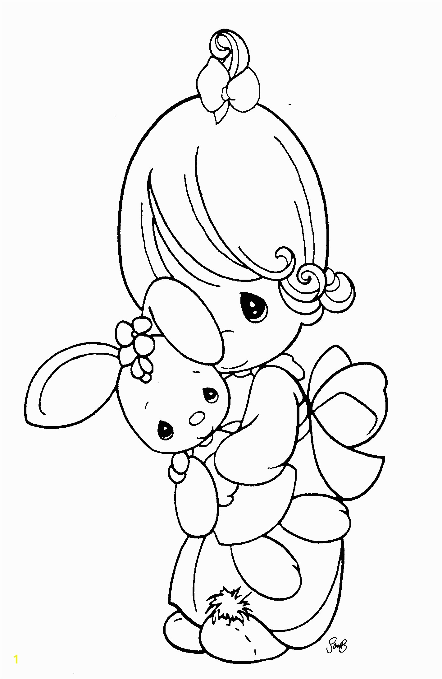 Free Printable Precious Moments Coloring Pages Inspirational Precious Moments Angel Drawing at Getdrawings Free for