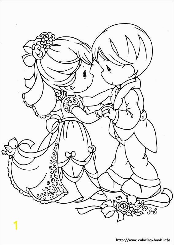 Precious Moments Coloring Pages Wedding Precious Moments Coloring Picture Stempels Pinterest