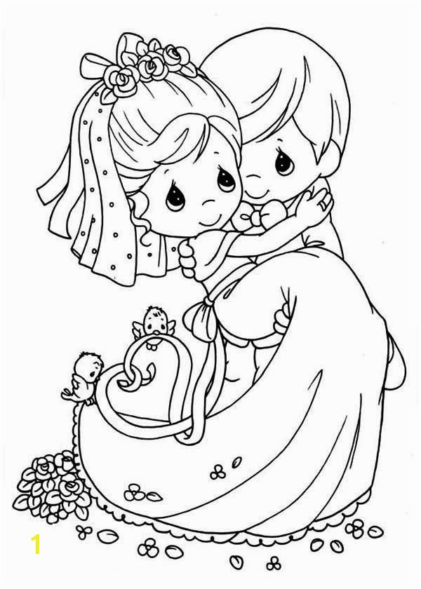 600x840 Fascinating Wedding Coloring Pages Free 46 Coloring Pages for