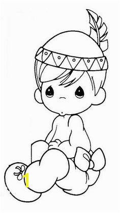 Precious Moments Indian Coloring Pages 111 Best Digital Precious Moments Images On Pinterest In 2018