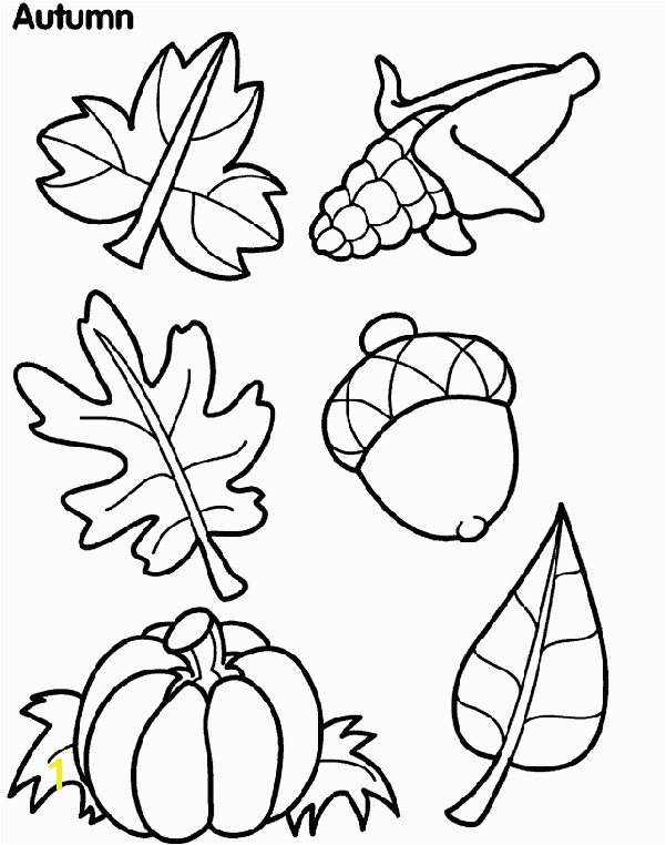 Fall themed Coloring Pages New Fall Leaf Coloring Page Leaf Color Page Vitlt