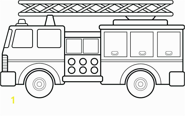 Fire Truck Coloring Pages Also 1 Sheet Preschool Fire Truck Coloring Pages Also 1 Sheet Preschool